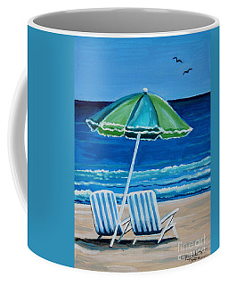 Beach Chair Bliss Coffee Mug