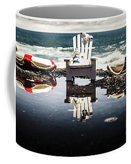 Beach Chairs And Rock Pools Coffee Mug
