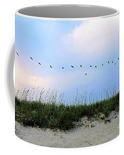 Beach Club Dunes Coffee Mug