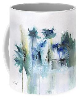Beach Cottage Abstract Coffee Mug
