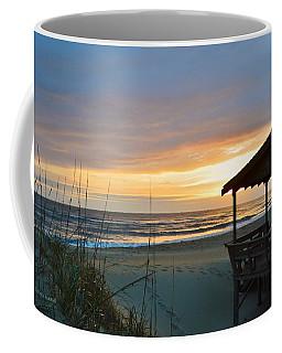 Beach Cottage Sunrise  Coffee Mug