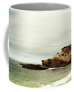 Beach Day At Montana De Oro Inspooner's Cove San Luis Obispo County California Coffee Mug