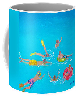 Beach Decor 'holiday Splash' By Jan Matson Coffee Mug