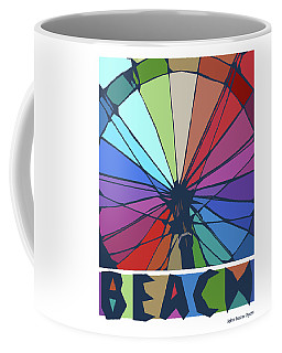 Beach Design By John Foster Dyess Coffee Mug