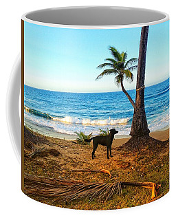 Beach Dog  Coffee Mug
