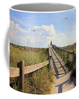 Beach Entrance Coffee Mug