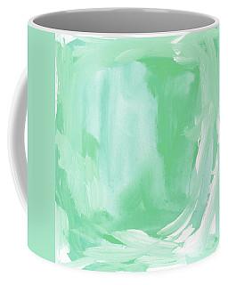 Beach Glass Blues Abstract- Art By Linda Woods Coffee Mug