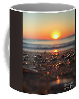 Coffee Mug featuring the photograph Beach Glow by LeeAnn Kendall