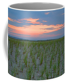 Coffee Mug featuring the photograph Beach Grass Farm by  Newwwman