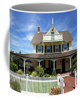 Coffee Mug featuring the photograph Beach Haven Architecture by John Rizzuto