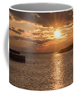 Beach Haven Nj Sunset January 2017 Coffee Mug