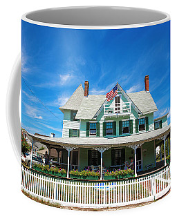 Coffee Mug featuring the photograph Beach Haven Style by John Rizzuto