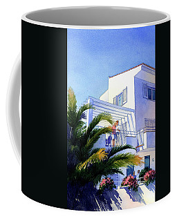 Beach House At Figueres Coffee Mug