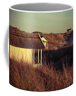 Beach Houses And Dunes Coffee Mug