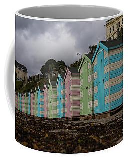 Beach Huts Falmouth Cornwall Coffee Mug