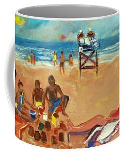 Beach In August Coffee Mug