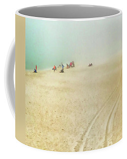 Beach In Fog Coffee Mug