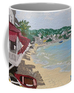 Beach In Grand Case Coffee Mug