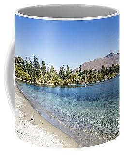 Beach In Queenstown, New Zealand Coffee Mug