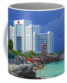 Beach Life In Cancun Coffee Mug