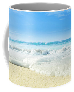 Coffee Mug featuring the photograph Beach Love Summer Sanctuary by Sharon Mau