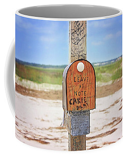 Beach Mail Coffee Mug