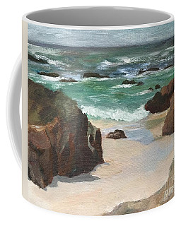 Beach Of Asilamor Coffee Mug