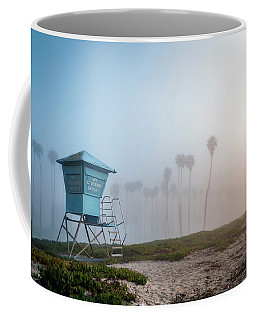 Coffee Mug featuring the photograph Beach Office by Sean Foster