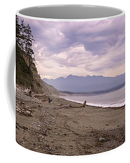 Beach On Dungeness Spit Coffee Mug
