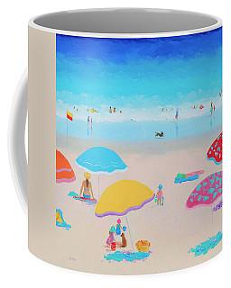 Beach Painting - Ah Summer Days Coffee Mug