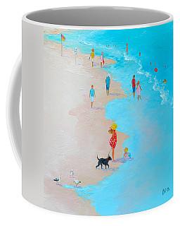 Beach Painting - Beach Day - By Jan Matson Coffee Mug