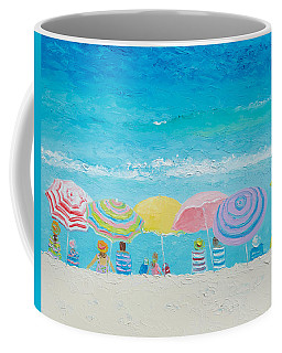 Beach Painting - Color Of Summer Coffee Mug by Jan Matson