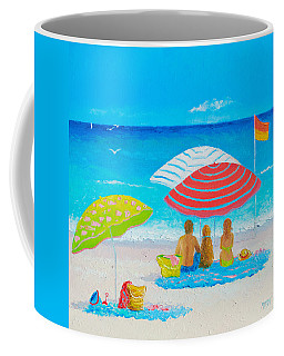 Beach Painting - Endless Summer Days Coffee Mug