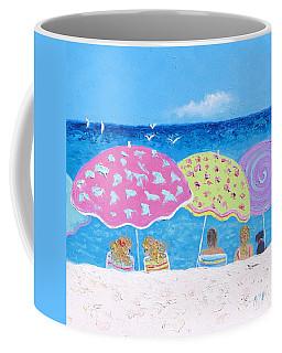 Beach Painting - Lazy Summer Days Coffee Mug