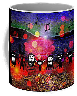 Beach Party Critters Coffee Mug by Leanne Seymour