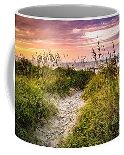 Beach Path Sunrise Coffee Mug