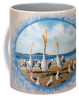 Privileged. Pelican  Procedure Prevailed   Coffee Mug