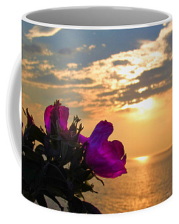Beach Roses Coffee Mug