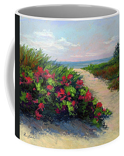 Beach Roses Coffee Mug