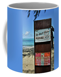 Beach Rules Coffee Mug