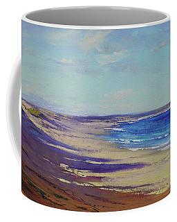 Beach Sand Shadows Coffee Mug
