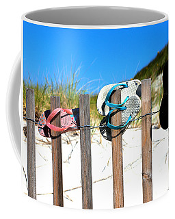 Beach Sandels  Coffee Mug