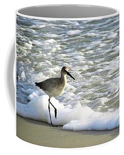 Beach Sandpiper Coffee Mug by Kathy Long
