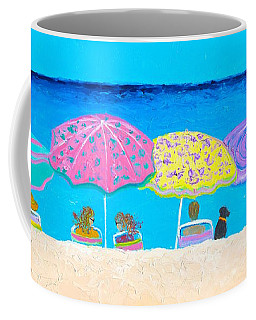 Beach Sands Perfect Tans Coffee Mug by Jan Matson