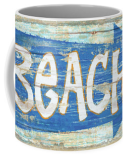 Beach Sign Coffee Mug