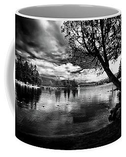 Coffee Mug featuring the photograph Beach Silhouette by David Patterson