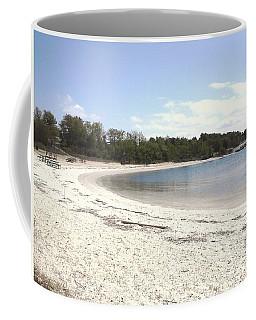 Beach Solomons Island Coffee Mug