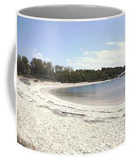 Beach Solomons Island Coffee Mug