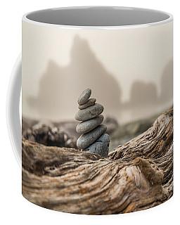 Beach Stack Coffee Mug by Kristopher Schoenleber
