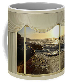 Beach Sunrise From Your Home Or Office By Kaye Menner Coffee Mug